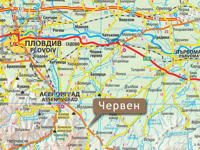 Karta 2019 Karta Asenovgrad